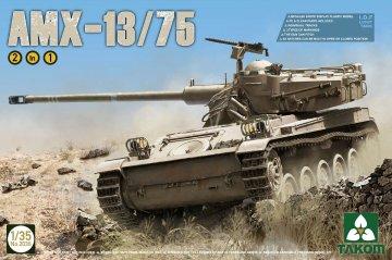 IDF Light Tank AMX-13/75 2in1 · TAK 2036 ·  Takom · 1:35