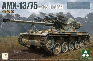 French Light Tank AMX w. SS-11 ATGM 2in1 · TAK 2038 ·  Takom · 1:35