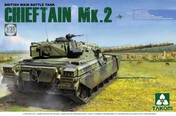 British main Battle Tank Chieftain Mk.2 · TAK 2040 ·  Takom · 1:35