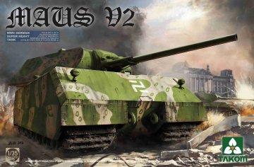 WWII German Super Heavy Tank Maus V2 · TAK 2050 ·  Takom · 1:35