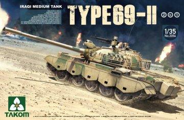 Iraqi Medium Tank Type-69 II 2 in 1 · TAK 2054 ·  Takom · 1:35