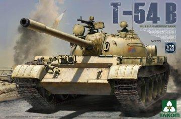 Russian Medium Tank T-54 B Late Type · TAK 2055 ·  Takom · 1:35