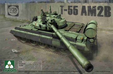 DDR Medium Tank T-55 AM2B · TAK 2057 ·  Takom · 1:35
