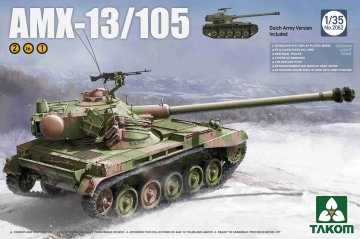 French Light Tank AMX-13/105  2 in 1 · TAK 2062 ·  Takom · 1:35