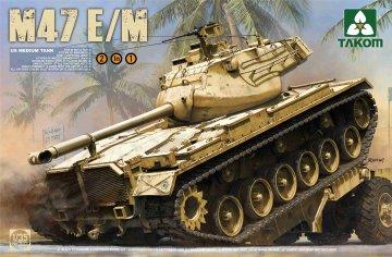US Medium Tank M47 E/M 2 in 1 · TAK 2072 ·  Takom · 1:35