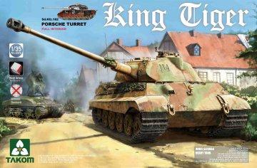 WWII German Heavy Tank Sd.Kfz.182 King · TAK 2074S ·  Takom · 1:35