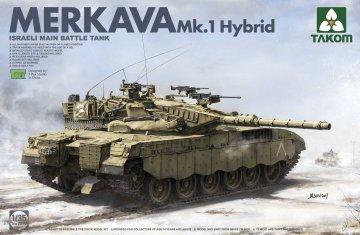Israeli Main Battle Tank Mekava 1 Hybrid · TAK 2079 ·  Takom · 1:35