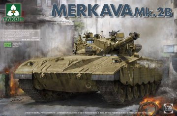Israeli Main Battle Tank Merkava Mk.2b · TAK 2080 ·  Takom · 1:35
