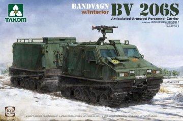 Bandvagn Bv 206S Articulated Armored Personnel Carrier · TAK 2083 ·  Takom · 1:35