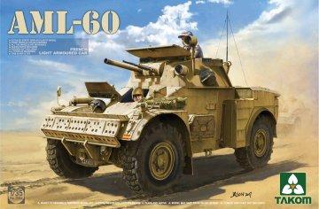 French Light Armoured Car AML-60 · TAK 2084 ·  Takom · 1:35