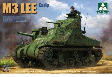 US Medium Tank M3 Lee - Early Version · TAK 2085 ·  Takom · 1:35