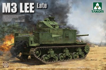 US Medium Tank M3 Lee Late · TAK 2087 ·  Takom · 1:35
