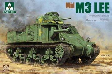 US Medium Tank - M3 LEE Mid · TAK 2089 ·  Takom · 1:35