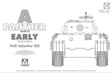 Panther A - Sd.Kfz 171 - Early Production · TAK 2097 ·  Takom · 1:35