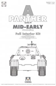 Panther A - Sd.Kfz 171 - Mid-Early Production · TAK 2098 ·  Takom · 1:35
