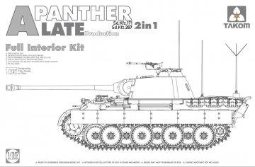 Panther A - Sd.Kfz 267 - Late Production · TAK 2099 ·  Takom · 1:35