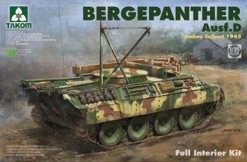 Bergepanther Ausf.D Umbau Seibert 1945 production w/full interior · TAK 2102 ·  Takom · 1:35