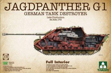 Jagdpanther G1 Late Production Sd.Kfz.173 · TAK 2106 ·  Takom · 1:35