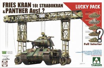FRIES KRAN 16t Strabokran1943/44 & Panther · TAK 2108 ·  Takom · 1:35