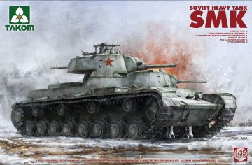 Soviet Heavy Tank SMK · TAK 2112 ·  Takom · 1:35