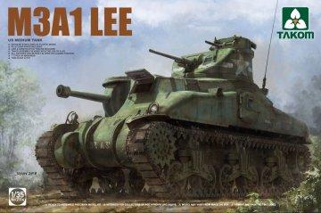 US Medium Tank M3A1 LEE · TAK 2114 ·  Takom · 1:35