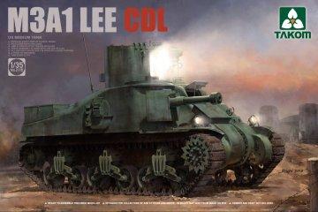 US Medium Tank M3A1 LEE CDL · TAK 2115 ·  Takom · 1:35