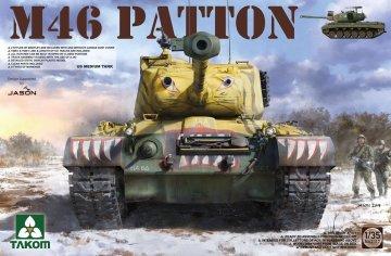 US Medium Tank M-46 PATTON · TAK 2117 ·  Takom · 1:35