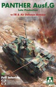 Panther Ausf.G late production w/IR & Air Defense Armour · TAK 2121 ·  Takom · 1:35