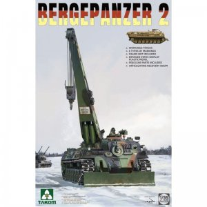 Bergepanzer 2 · TAK 2122 ·  Takom · 1:35