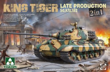 Sd.Kfz182 King Tiger - Late Production 2 in 1 (without interior) · TAK 2130 ·  Takom · 1:35