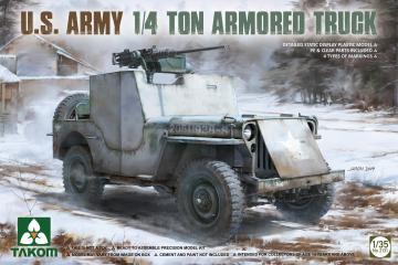 U.S. Army 1/4 ton armored truck · TAK 2131 ·  Takom · 1:35