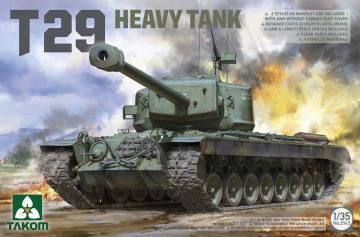 T29 Heavy Tank · TAK 2143 ·  Takom · 1:35