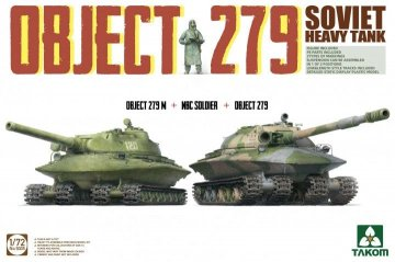 Object 279+Object 279M+NBC Soldier Soviet Heavy Tank · TAK 5005 ·  Takom · 1:72
