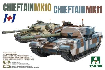 Chieftain MK11 + Chieftain MK10 · TAK 5006 ·  Takom · 1:72