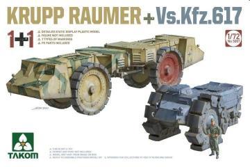 Krupp Räumer + Vs.Kfz.617 · TAK 5007 ·  Takom · 1:72