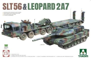 SLT56 & Leopard 2A7 · TAK 5011 ·  Takom · 1:72