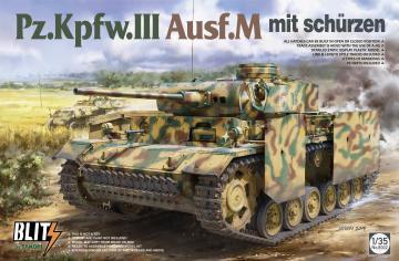 Pz.Kpfw.III Ausf.M mit Schürzen · TAK 8002 ·  Takom · 1:35