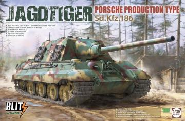 Jagdtiger Porsche Production Type Sd.Kfz.186 · TAK 8003 ·  Takom · 1:35