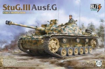 StuG.III Ausf.G - Early production · TAK 8004 ·  Takom · 1:35