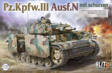 Pz.Kpfw.III Ausf.N mit Schürzen · TAK 8005 ·  Takom · 1:35