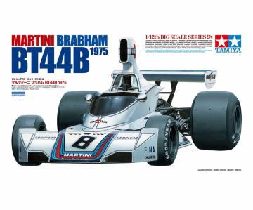 Martini Brabham BT44B 1975 m. Photoätzteilen · TA 12042 ·  Tamiya · 1:12