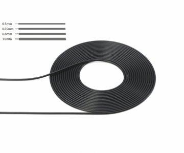 1,00mm Kabel/Schlauch 2m (1:6/1:12/1:24) · TA 12678 ·  Tamiya