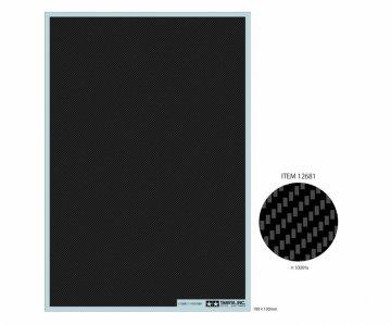 Carbon Dekor Köper/Fein (1:6/1:12/1:24) · TA 12681 ·  Tamiya