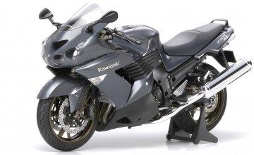 Kawasaki ZZR 1400 · TA 14111 ·  Tamiya · 1:12