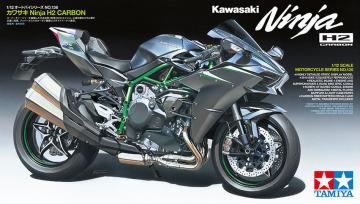 Kawasaki Ninja H2 Carbon · TA 14136 ·  Tamiya · 1:12