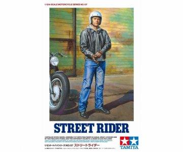 Figur Street Rider · TA 14137 ·  Tamiya · 1:12