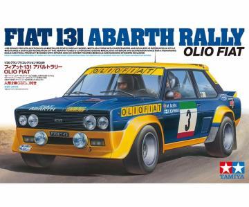 Fiat 131 Abarth Rally Olio · TA 20069 ·  Tamiya · 1:20