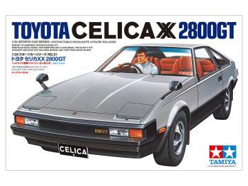 Toyota Celica XX 2800GT · TA 24021 ·  Tamiya · 1:24