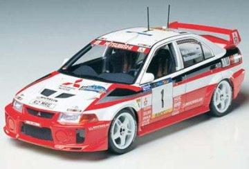 Mitsubishi Lancer Evo.V WRC · TA 24203 ·  Tamiya · 1:24