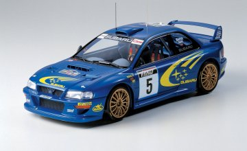 Subaru Impreza WRC 1999 · TA 24218 ·  Tamiya · 1:24